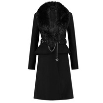 Lara Peplum Coat