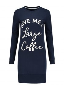 Large Coffee Sweatdress