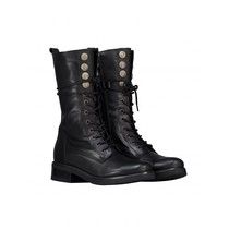 Button Lace Boot