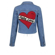 Bobby Heart Cropped Jacket