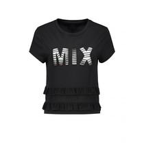 Mix Ruffle T-shirt