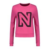 N Logo Cropped Sweater