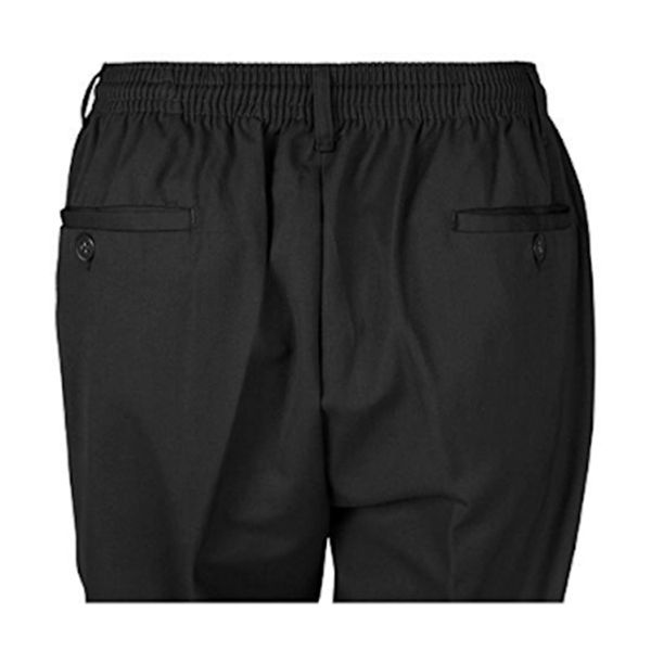 KMS 00501 Men's Big Size Black Rugby Pants