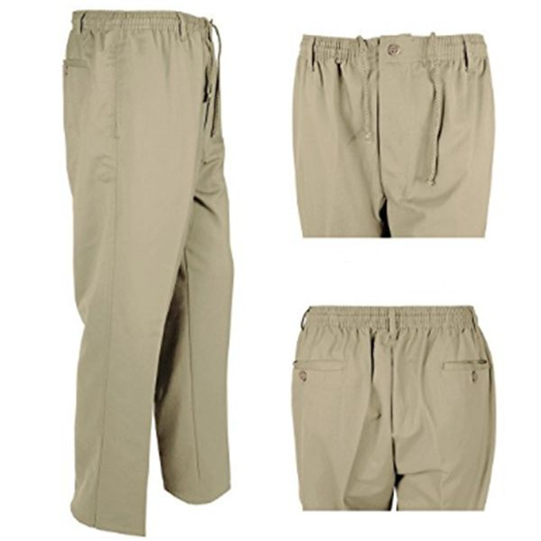 KMS 00511 Men's Big Size Khaki Rugby Pants