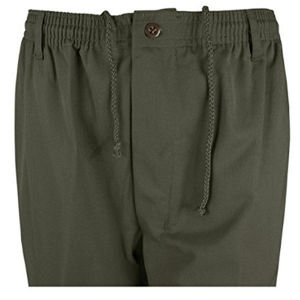 KMS 00514 Men's Big Size Olive Green Rugby Pants