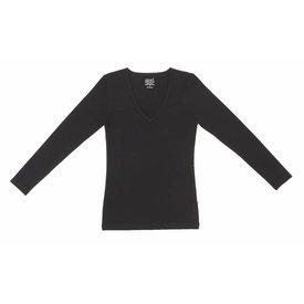 Claesen's Claesen's V-Neck T-Shirt LS Black