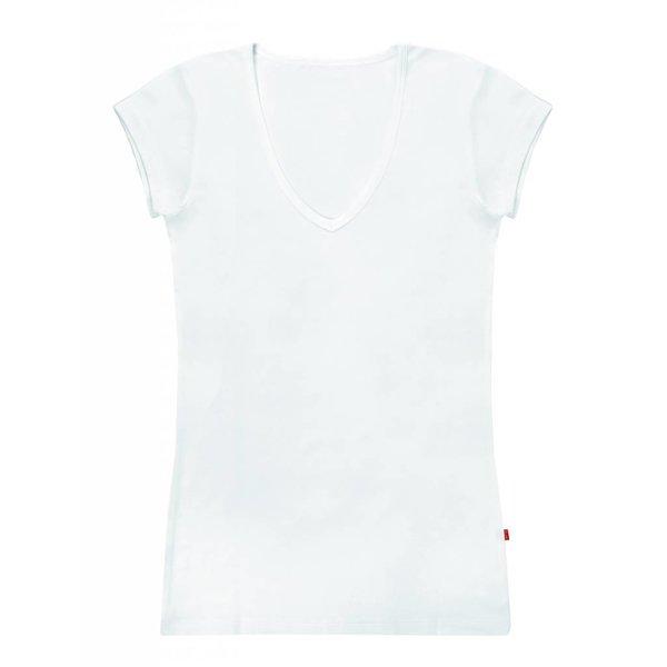 Claesen's Claesen's V-Neck T-Shirt SS White (8010)