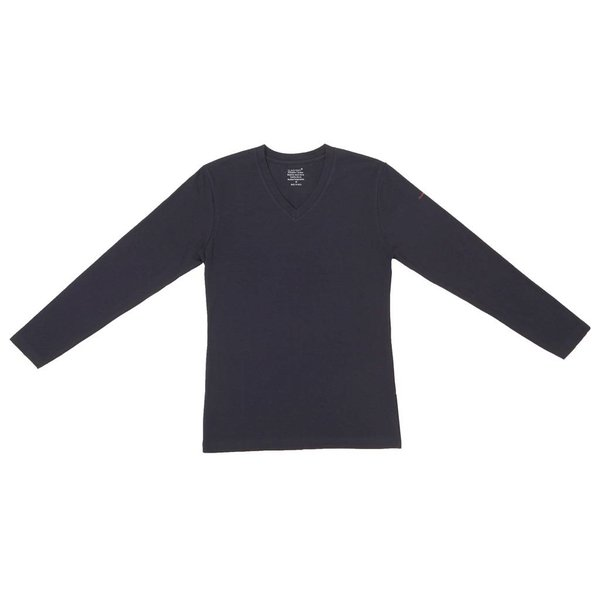 Claesen's Claesen's Long Sleeve V-Neck Navy