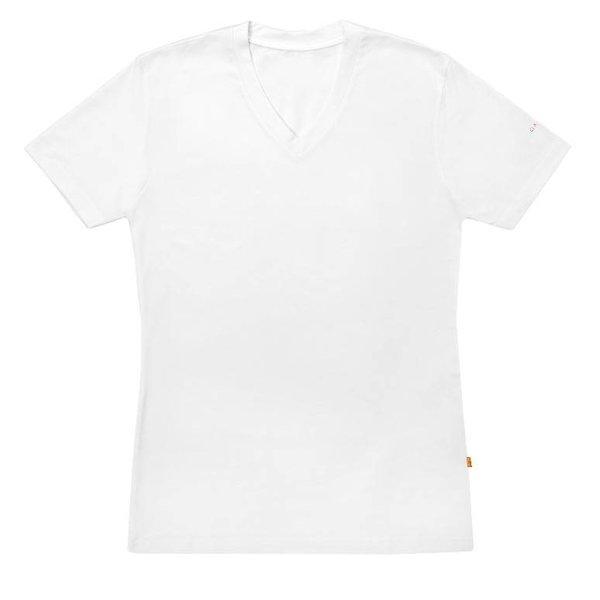 Claesen's Claesen's V-Neck T-Shirt White