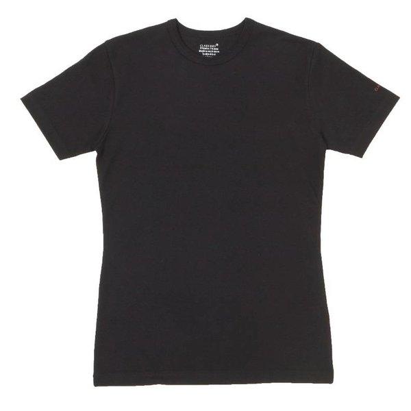 Claesen's Claesen's T-Shirts Short Sleeve 2-Pack Black