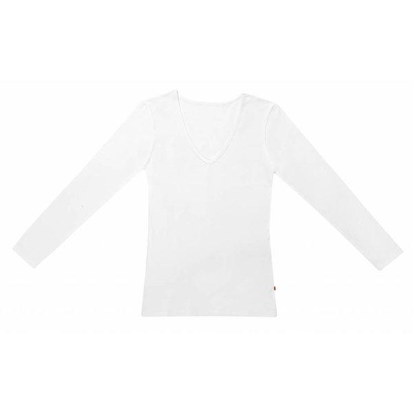 Claesen's Claesen's V-Neck T-Shirt LS White