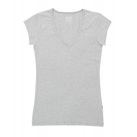Claesen's Claesen's V-Neck T-Shirt SS Grey