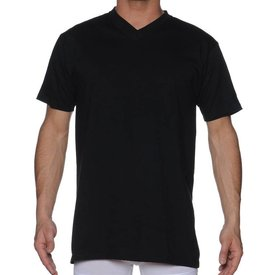 HOM HOM Hilary V-Neck Shirt Black