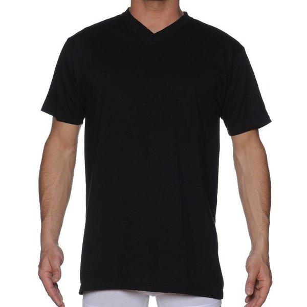 HOM HOM Hilary V-Neck Shirt Black