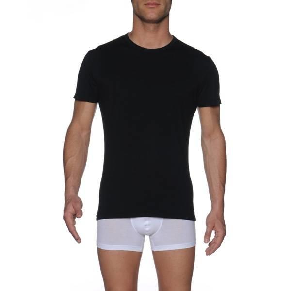 HOM HOM Business First Cotton Shirt Black