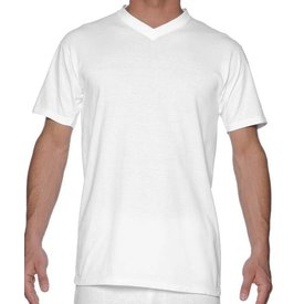 HOM HOM Hilary V-Neck Shirt White