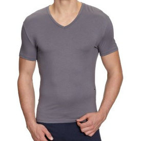 HOM HOM Business Soft Modal Shirt Grey