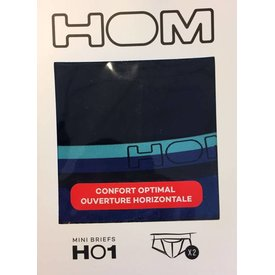 HOM HOM HO1 Mini Brief 2-Pack Blue