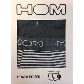 HOM HOM HO1 Original Boxer Grey 2-Pack