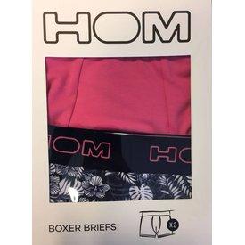 HOM HOM HO1 Original Boxer Pink 2-Pack