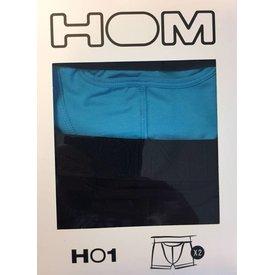 HOM HOM HO1 Original Boxer Turquoise 2-Pack
