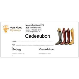Cadeaubon t.w.v. € 100,00
