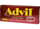 Advil Advil 400mg ovaal blister