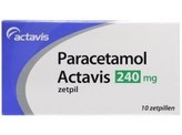 Actavis paracetamol 240mg