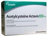 Actavis Acetylcysteine 200 mg