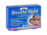 Breathe Right Neusstrips tanned large