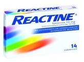 Reactine Anti histaminicum 10 mg