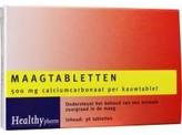Healthypharm Maagtabletten calcium carbonaat