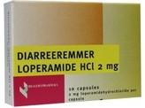 Healthypharm Diarree remmer 2mg/loperamide