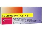 Healthypharm Foliumzuur 0.5mg