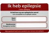 Zorgtotaal Epilepsie noodkaart
