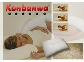 Orange Planet Konbanwa pillow