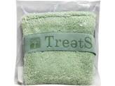 Treets Washand 12 x 12 cm & soap green