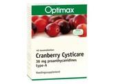 Optimax Cysticare cranberry extra
