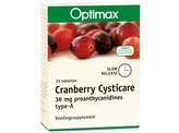 Optimax Cysticare cranberry slow release