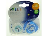Avent Fopspeen 6-18M night time
