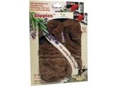 Warmies Slippies maat 4-7 (36-41) uitn vull bruin