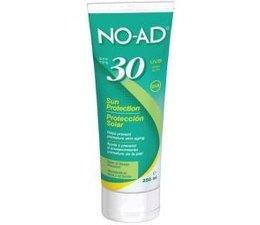 Noad Sun tan lotion F30 tube