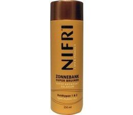 Nifri Zonnebank Super Bruiner huidtypen 1&2