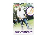 Klinion Kompres non woven 16 stuks 10x5cm