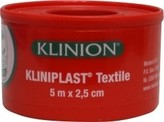 Kliniplast Kliniplast hechtpleister 5X2.5CM+RING