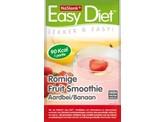 Nu Slank Easy diet smoothie aardbei banaan