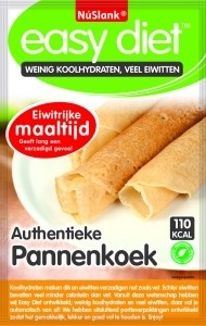 Nu Slank Easy diet pannenkoek naturel 32,5GR - De beste online drogisterij van Nederland en België!