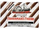 Fishermansfriend Zoete drop suikervrij