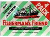 Fishermansfriend Strong mint suiker vrij