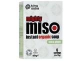 King Soba Misosoep tofu gember